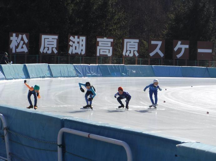 銀河連邦スポーツ交流事業・星のまちスピードスケート親善大会選手派遣